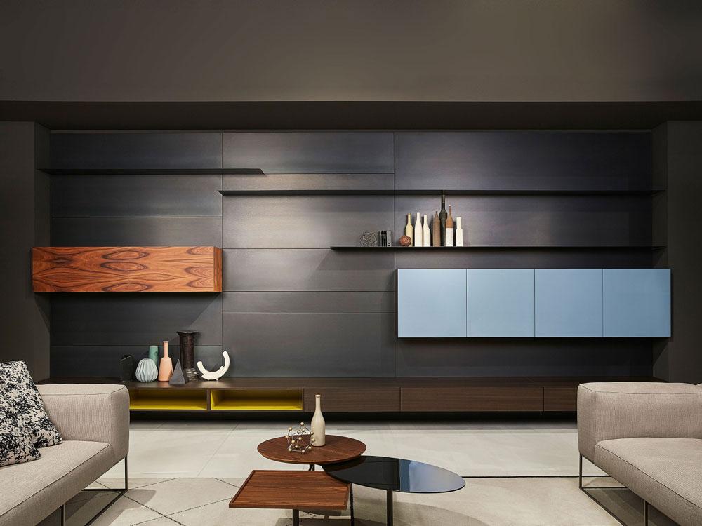 Porro wohnw nde wohnwand modern designbest for Fernsehwand modern