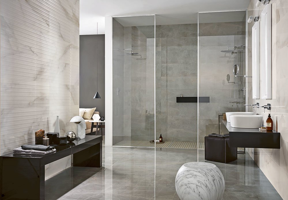Tiles collection evolutionmarble b by marazzi ceramiche - Piastrelle azzurre ...