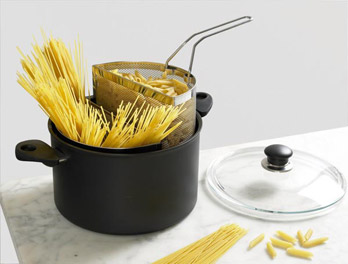 Spaghettiera Doppia Pasta