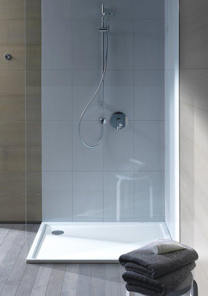Shower Trays: Shower Tray Starck Slimline by Duravit