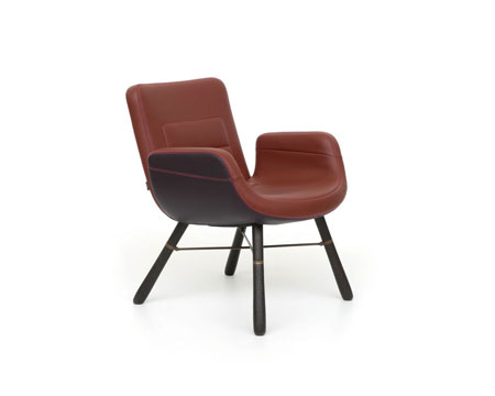 Poltroncina East River Chair Leather