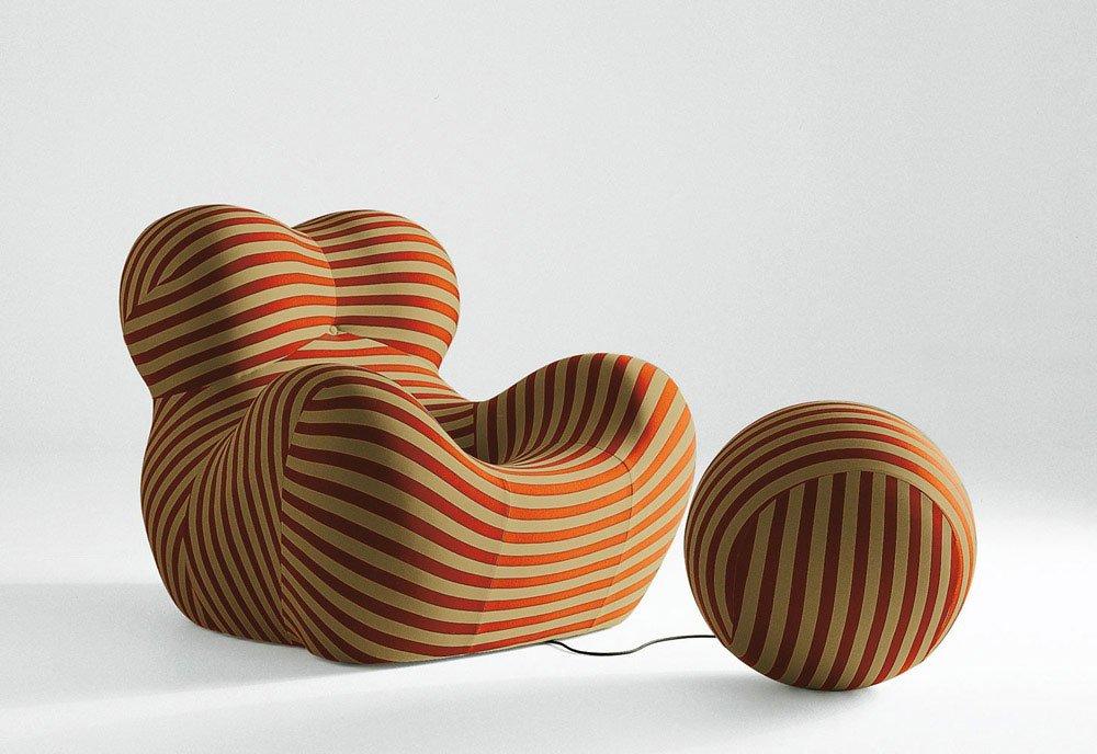 Armchairs Armchair UPJ By BampB Italia