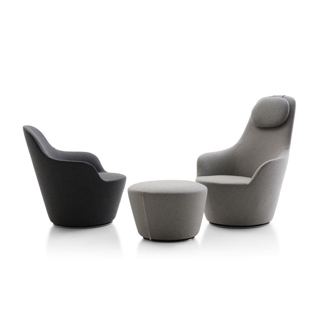 catalogue fauteuil harbor b b italia designbest. Black Bedroom Furniture Sets. Home Design Ideas