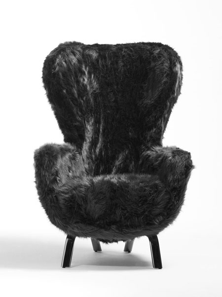 Armchair Guelfo Fur Limited Edition