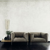 Sgabello anin da living divani designbest for Poltrone e sofa pescara
