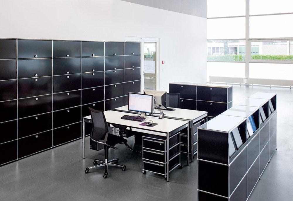 usm schreibtische und arbeitstische schreibtisch usm. Black Bedroom Furniture Sets. Home Design Ideas