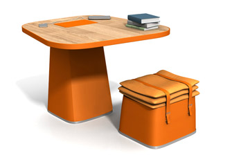 Writing desk Electa
