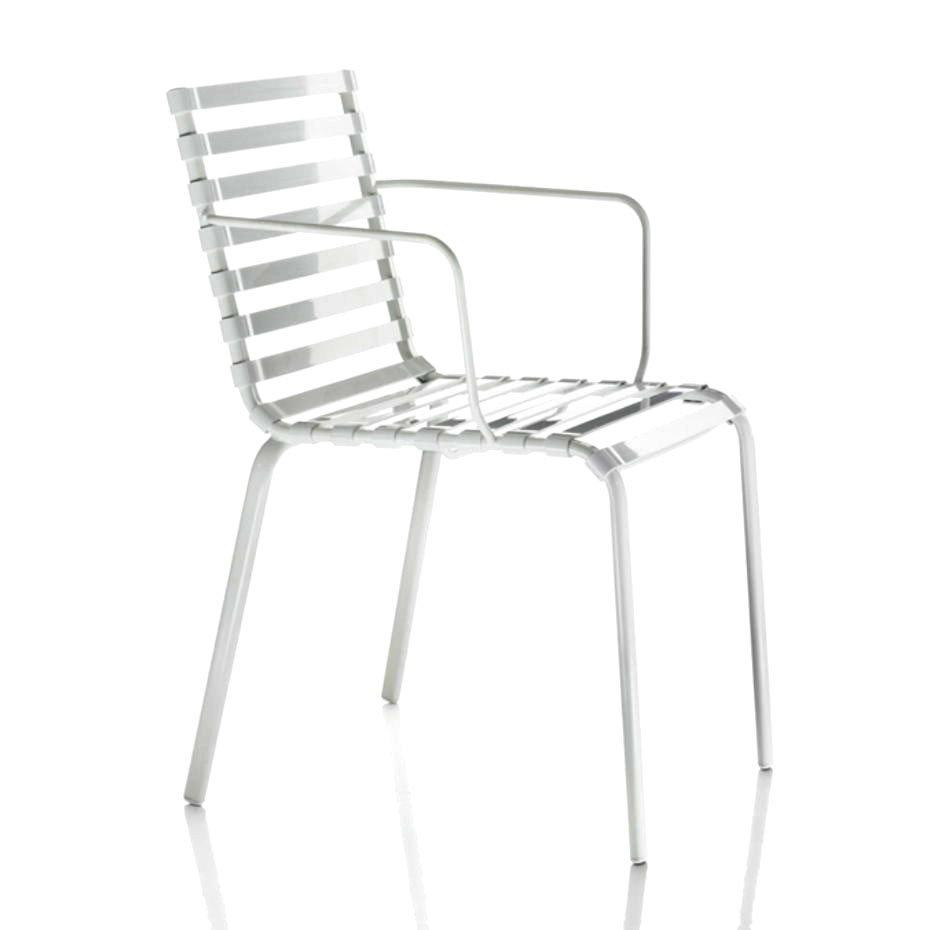 Sedia Striped con braccioli