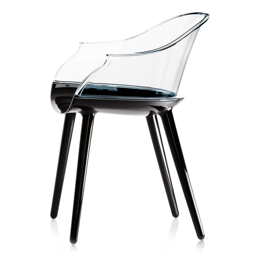 Chairs chair cyborg by magis for Chaise 1 pied