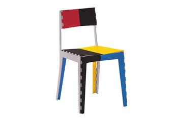 Chaise Stitch Chair