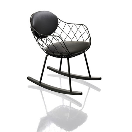 Sedia Piña Rocking Chair e Low Chair