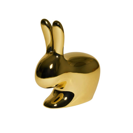 Sedia Rabbit Chair Metal Finish