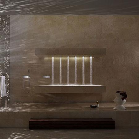 Soffione Horizontal Shower