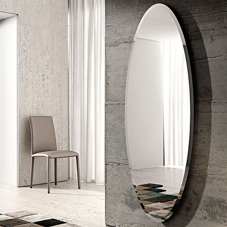 Specchiere riflessi complementi catalogo designbest - Specchio senza cornice ...
