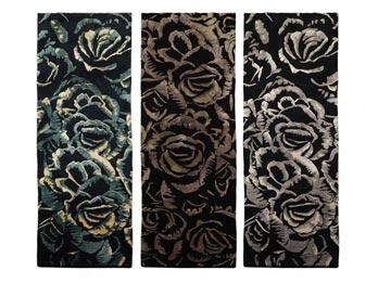 Teppich Dark Flower