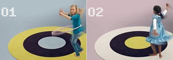 Teppich Dots + Stripes