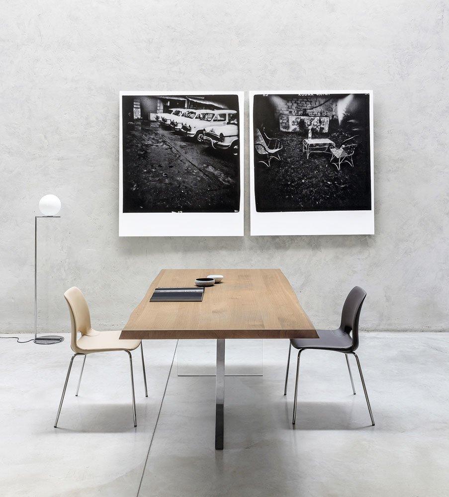 Riflessi tische tisch cubric designbest for Tisch eins design studio