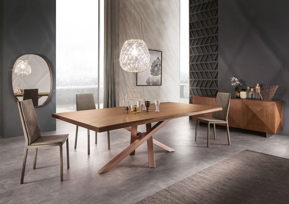 Catalogue table shangai big riflessi designbest - Renover table en bois ...