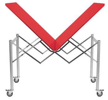 Tisch Scheren-Tisch 500