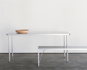 Tisch Aluminium Tisch 2