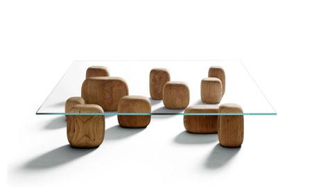 Petite table Ishi