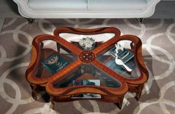 Tavolino Quadrifoglio