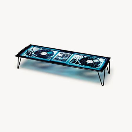 Tavolino Xraydio 2 Disc
