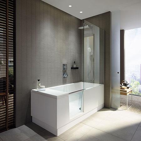 Bathtub Shower + Bath