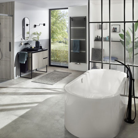 Badewanne Centro Duo Oval