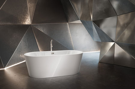 Badewanne Classic Duo Oval Wide