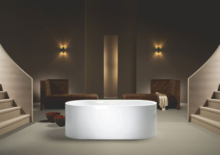 Badewanne Centro Duo Oval freestanding
