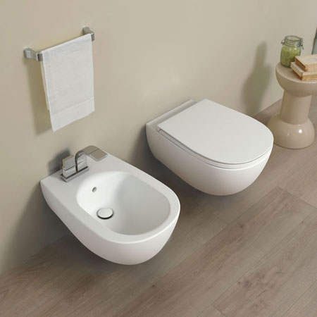 Wc and bidet Io