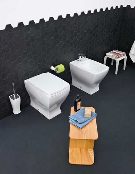 WC et bidet Jazz