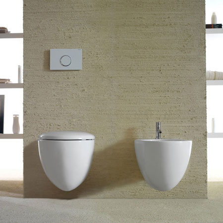 Wc and Bidet Bowl+