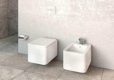 WC und Bidet Element