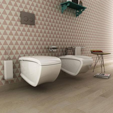 WC und Bidet Hi-Line