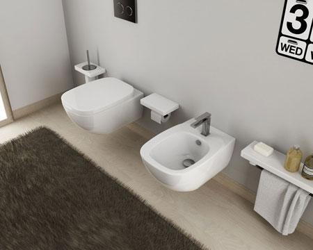 WC und Bidet Dial