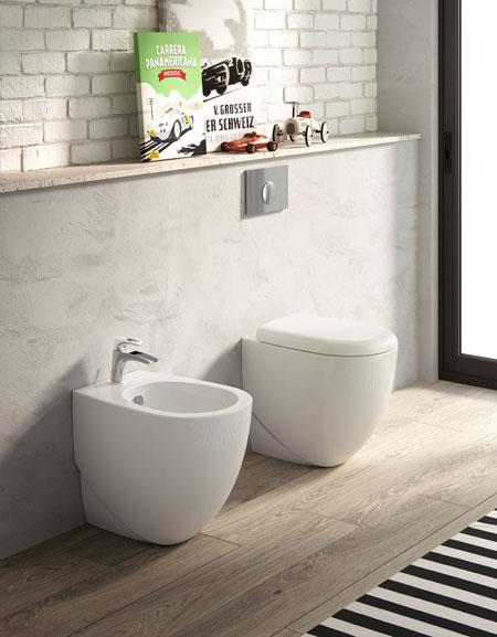 WC und Bidet ABC