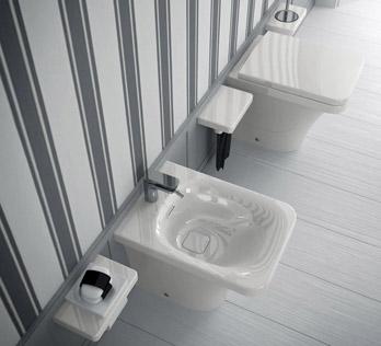 WC und Bidet Flat