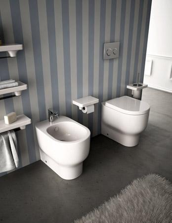 WC und Bidet Giò