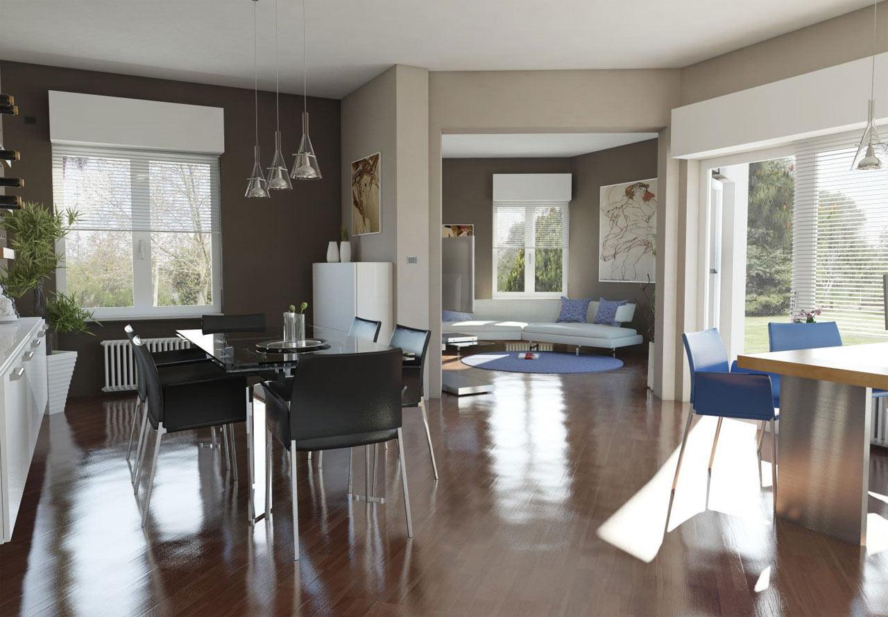 Progettazione di un soggiorno