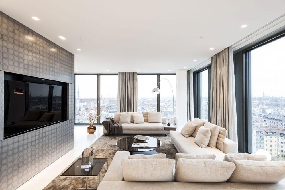 """Luxus-Wohnung im exklusiven Münchner """"The Seven"""""""