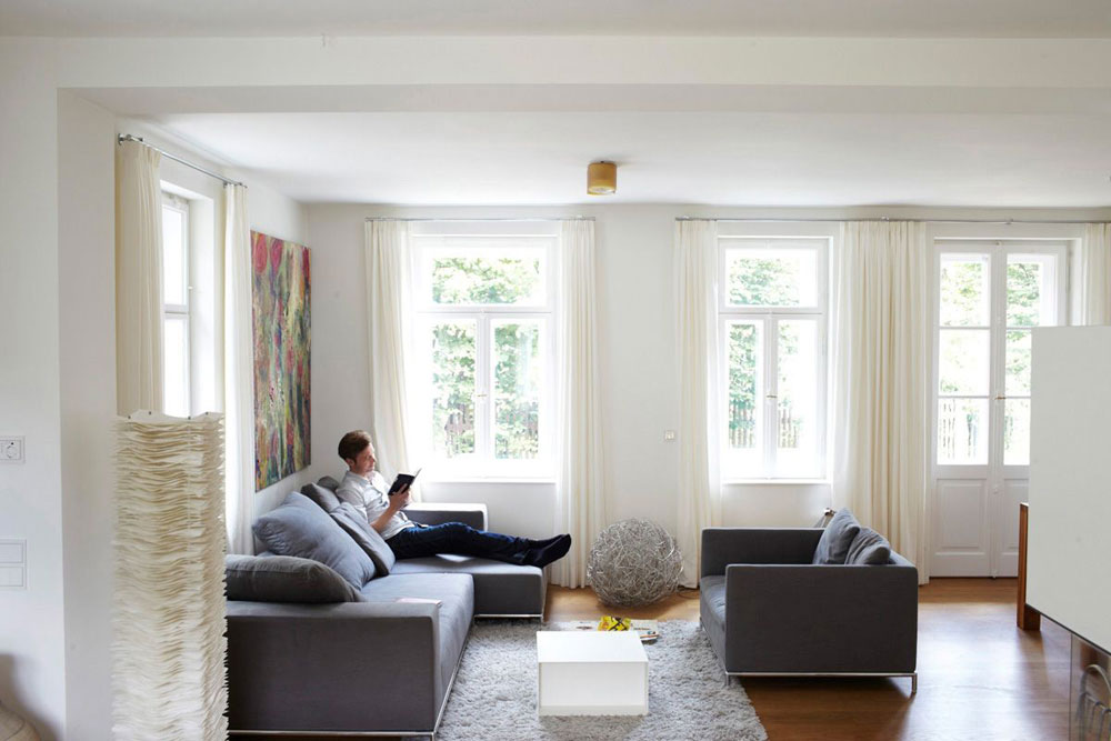 The renovation of a villa in Munich