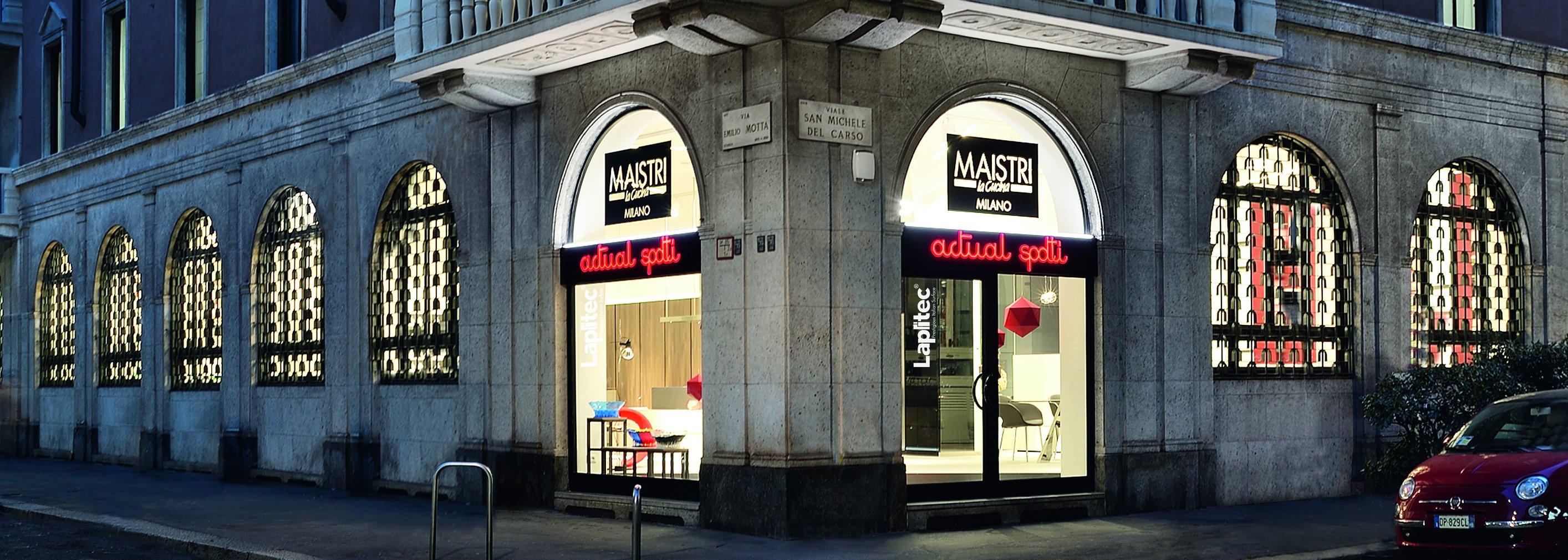 Actual Spotti Milano concept Maistri